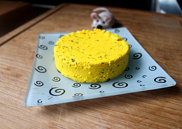 Queso fresco amarillo de orégano
